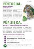Stadtwerke Aue Magazin / Frühlingszeit im Erzgebirge - Page 3