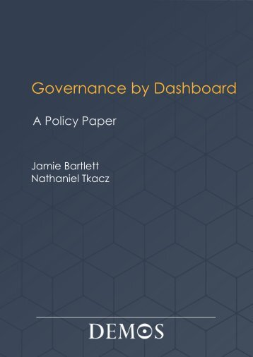 Governance by Dashboard