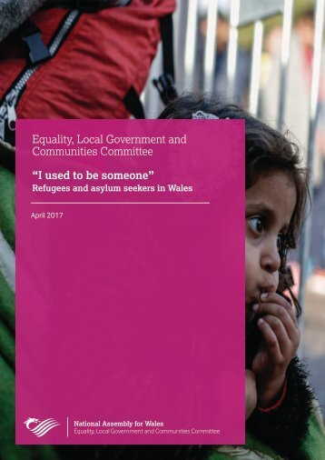"""Equality Local Government and Communities Committee """"I used to be someone"""""""