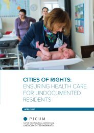CITIES OF RIGHTS ENSURING HEALTH CARE FOR UNDOCUMENTED RESIDENTS