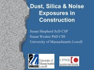 Dust, Silica & Noise Exposures in Construction