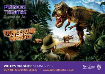 Princes Theatre Programme SUMMER 2017 FINAL