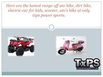 Www txpowersports com Magazines