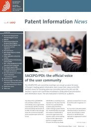 Patent Information News
