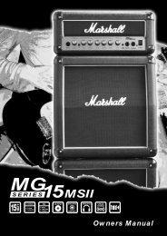MG - Marshall Amps