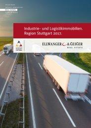 Industrie- und Logistikimmobilien Region Stuttgart 2016-2017