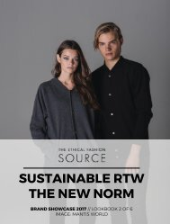Sustainable RTW: The New Norm