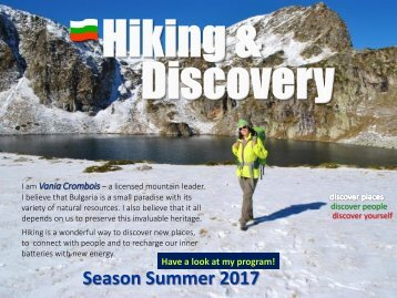 Vania's Hiking and Discovery_Summer'17