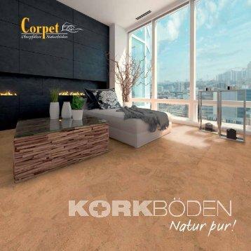 Corpet Katalog Kork Naturböden