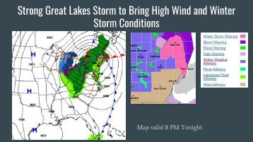 Strong Great Lakes Storm to Bring High Wind and Winter Storm Conditions