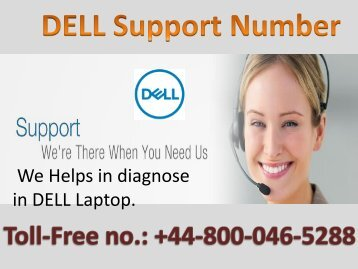 Dell Laptop Support Phone Number UK +448000465288