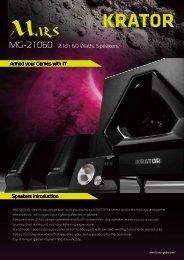 MG-2 1 060 2.1ch 60 Watts Speakers - Computex.biz