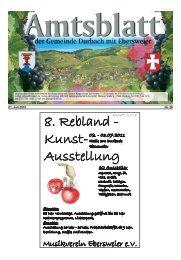 8. Rebland - Kunst- Ausstellung - Durbach