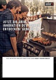 Weber Grillgeräte Frühlingsstart 2017
