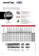 Chaînes à rouleaux Norme d'usine RexPro - Page 4
