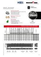 Chaînes à rouleaux Série HE Type américain RexPro - Page 5