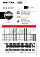 Chaînes à rouleaux Série HE Type américain RexPro - Page 6