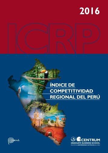 Libro Índice de Competitividad Regional del Perú 2016