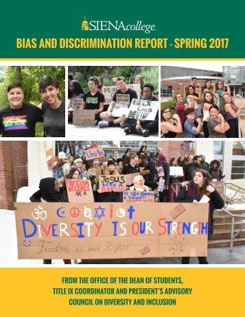Bias Report Spring 2017 - FINAL