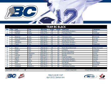 TEAM BC BLACK