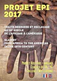 EPI 2017 - HISTOIRE - ANGLAIS - 4A 4C