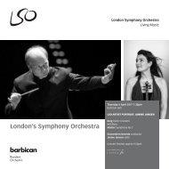 London's Symphony Orchestra