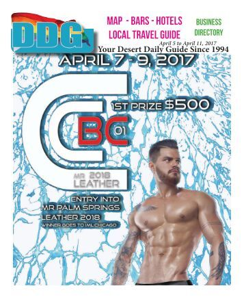 This week in gay Palm Springs California April 5th 2017