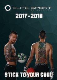 ELITE SPORT 2017 - 2018 Catalogue