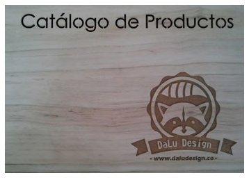 Catálogo de Productos DaLú Design
