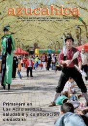 Primavera en Las Acacias ocio saludable y colaboración ciudadana