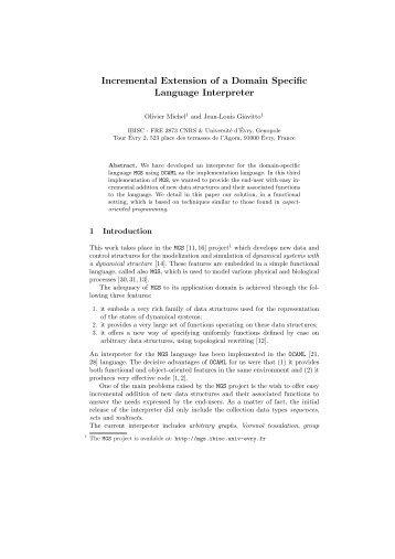 Extension language