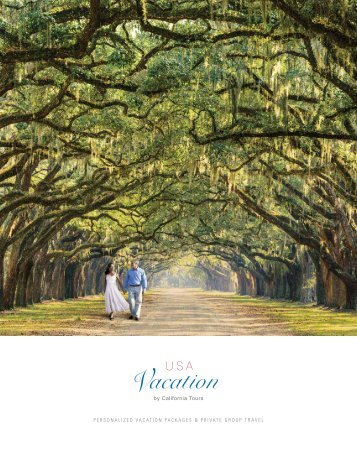 USA Vacation 2017 Brochure