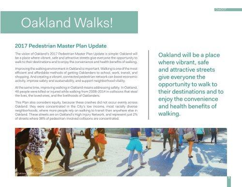 Oakland Walks!