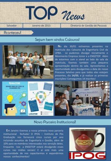 TOP News - Janeiro