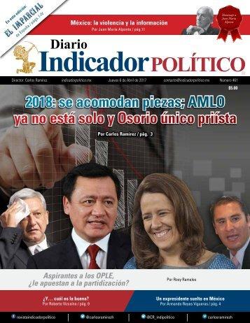 2018 se acomodan piezas AMLO ya no está solo y Osorio único priísta