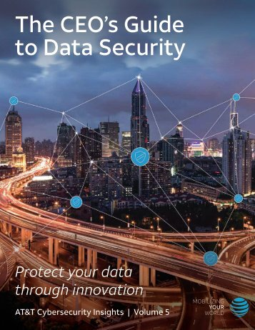 The CEO's Guide to Data Security