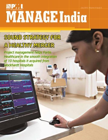 Sound STRATEGY FoR A HEALTHY MERGER - Project ...