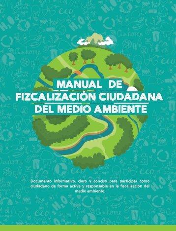 MANUAL DE FIZCALIZACIÓN CIUDADANA DEL MEDIO AMBIENTE