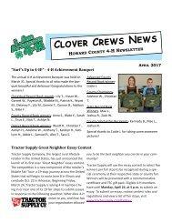 Clover Crews