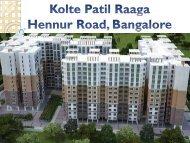 Kolte Patil Raaga by Kolte Patil, Bangalore - Call: (+91) 9953 5928 48