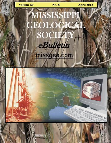 mgs 2011-2012 board of directors - Mississippi Geological Society