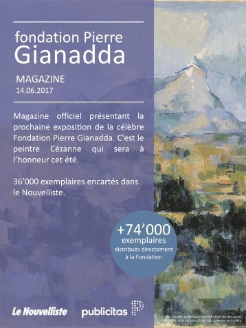 Gianadda été 2017