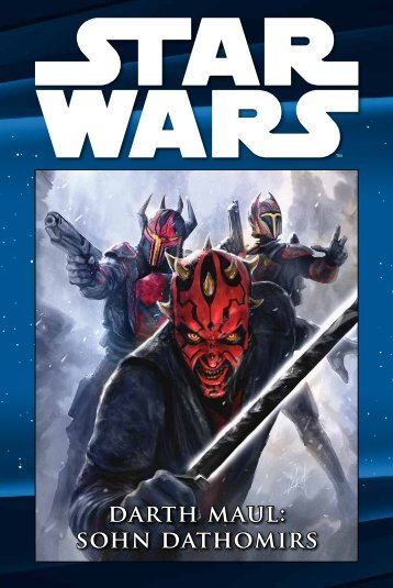 Star Wars Comic-Kollektion Band 18: Darth Maul - Sohn Dathomirs