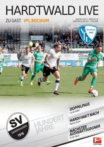 Hardtwald Live, Nr. 14, 16/17, SVS - VfL Bochum