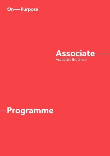 Associate Programme