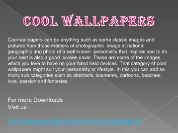 Cool hd wallpaper