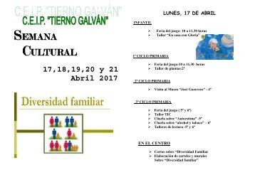 SEMANA Cultural 2016/17
