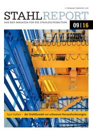 Stahlreport 2016.09