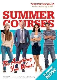 NCC Summer courses brochure