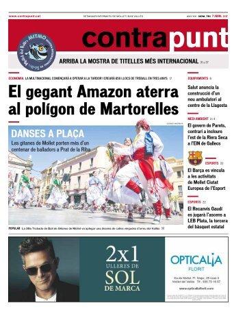 El gegant Amazon aterra al polígon de Martorelles